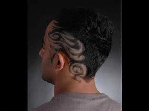 pattern ideas for shaved hair martin fox tramlines hair patterns youtube