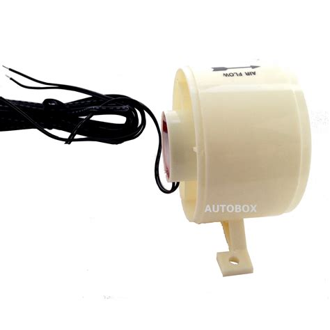12 volt thermostatically controlled refrigerator vent fan caravan white fridge fan thermostatic controlled