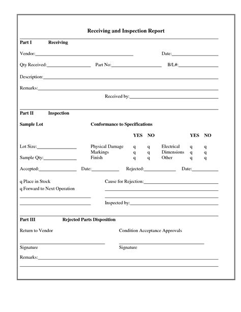 best photos of receiving form template shipping and