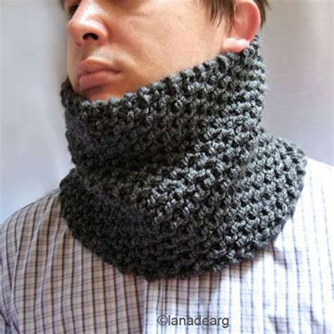 pattern knit cowl neck scarf pattern in pdf knitted cowl chunky scarf neck warmer n25