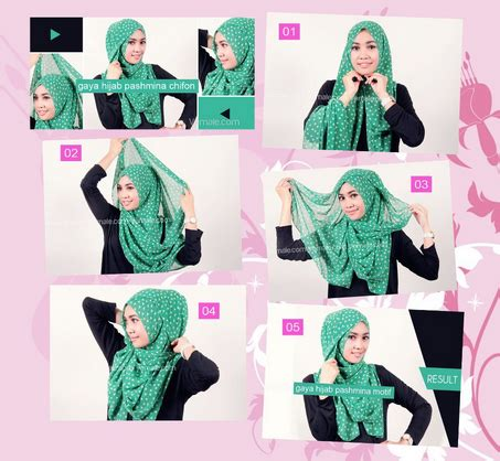 foto hijab pashmina catatan harian