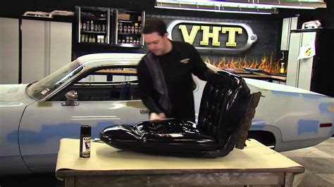 painting car seats  vht vinyl dye restoration