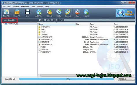 membuat file iso win xp tutorial cara membuat cd bootable windows xp dengan