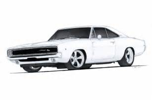 Dodge Charger Drawing 1968 Dodge Charger R T Drawing By Vertualissimo On Deviantart