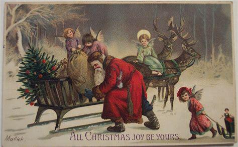 imagenes de navidad retro postales vintage de navidad blogodisea