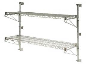 kitchen wall shelf wire wall mounted wire kitchen shelves with fixed bracket