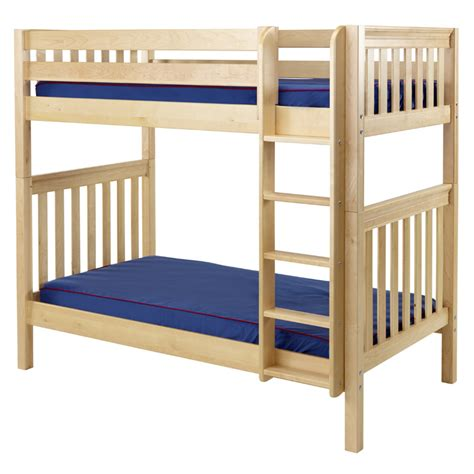 Tall Slatted High Bunk Bed Rosenberryrooms Com High Bunk Bed