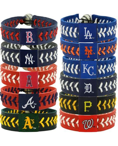baseball team colors mlb team color baseball bracelet choose your favorite team