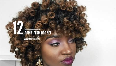 Rod Set Hairstyles by 12 Bomb Perm Rod Set Hairstyle Pictorials And Photos
