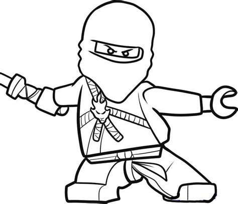 Coloring Page Of Ninja | ninja coloring pages az coloring pages