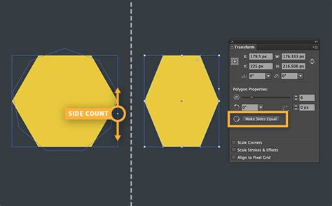 draw hexagon illustrator work with live shapes in illustrator adobe illustrator