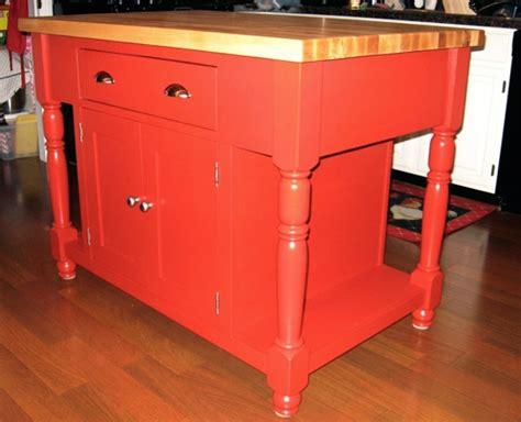 Red Kitchen Islands by Kitchens 3