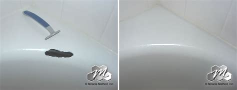 How To Fix Chipped Bathtub Enamel by The Bottom Of Fiberglass Tub Shower Has Cracked Can It Be Repaired Miracle Method Surface