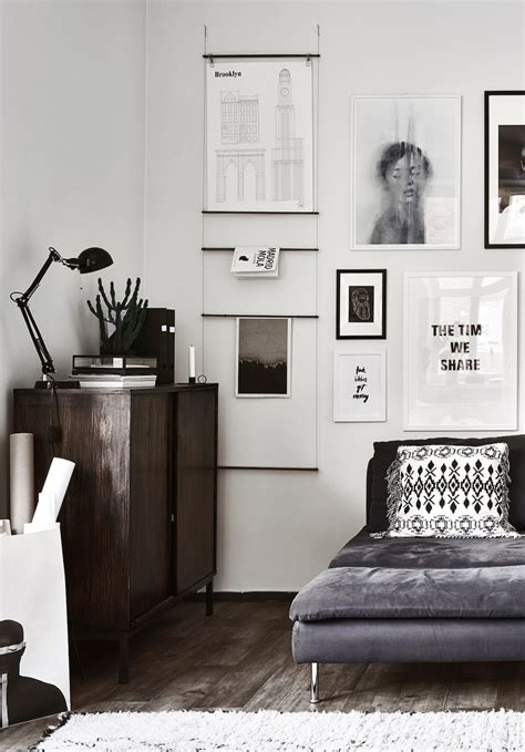 monochrome home decor decoratingspecial com the monochrome home of finnish interior designer laura