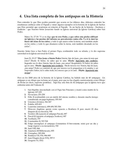 antipapas de la historia lista completa iglesia cat lica la verdad de lo que realmente ocurri 243 en iglesia cat 211 lica