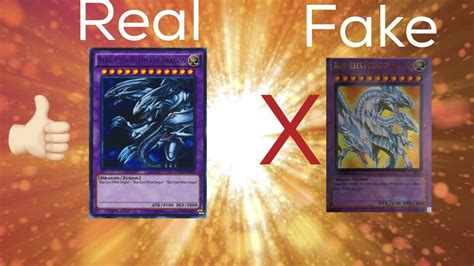 how to make real cards how to spot a yugioh card