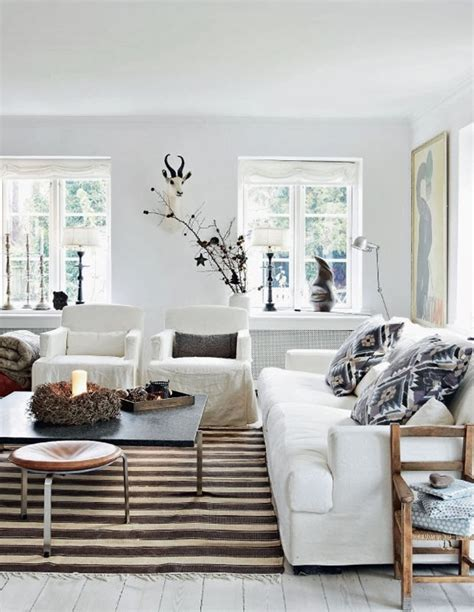 neutral colour scheme home decor a danish family home in christmas style the style files