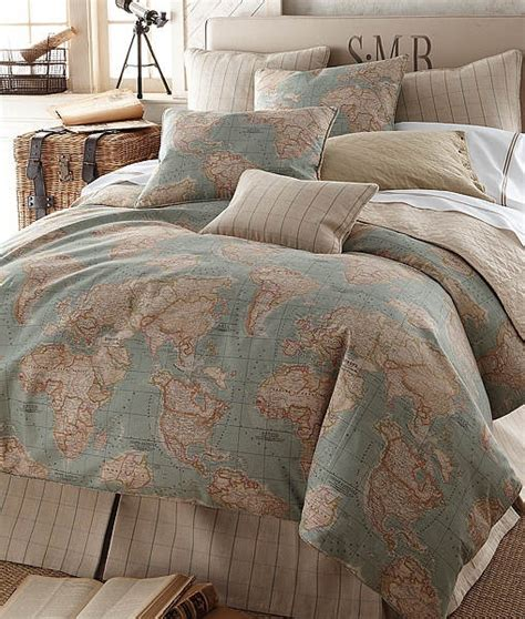 map themed bedding products i love pinterest guest
