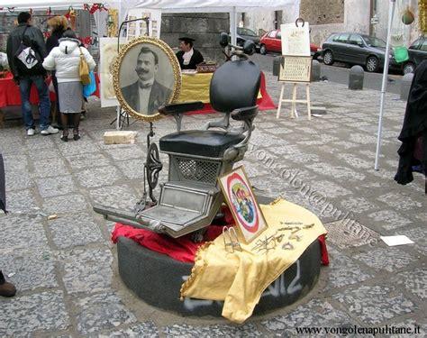 sedie barbiere antiche vongolen pulitane antichi mestieri cani