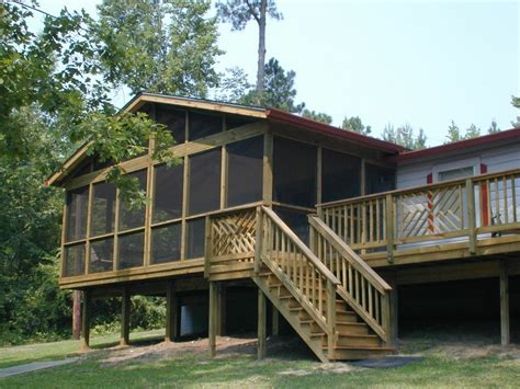 Deck with screened in porch pictures to pin on pinterest