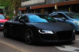 matte black abt audi r8 i this paint in