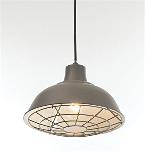Grey Pendant Ceiling Light by Satin Charcoal Grey Industrial Ceiling Light Pendant Cafe