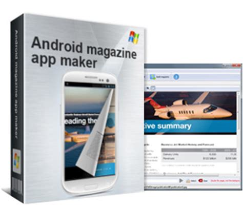 android maker convert pdf and diverse format images into apps for