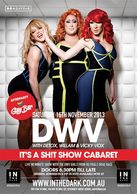 And Detox Sydney by Tickets For Sydney Show With Willam Detox