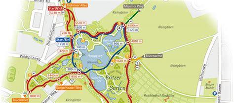 Britzer Garten Lauf 2017 by Freizeitkarten Kartopolis Kartografie Berlin