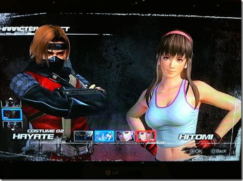 Dead Or Alive 5 Second Ps3 check out hayate s 2p costume in dead or alive 5 siliconera