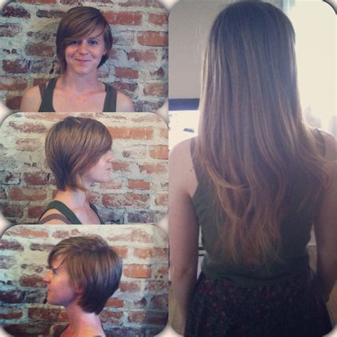 haircuts after hair donation before and after locks of love donation hair do s and