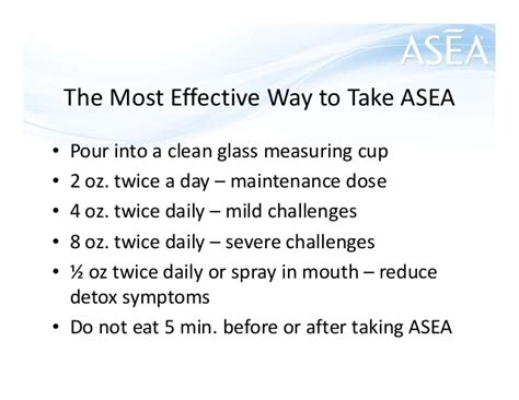 Asea Detox by How To Talk About Redox Signaling Molecules By Gary