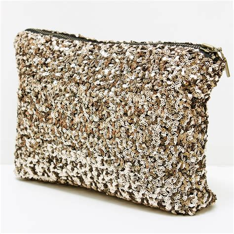 Sequined Clutch sequined clutch bag accessories style by marina