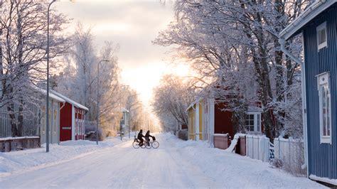 the winter winter visitfinland