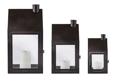 laterne kerzenhalter laterne haus metall glas mit t 252 r metall windlicht