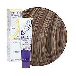 ion permanent hair color ion color brilliance intensive shine demi permanent creme