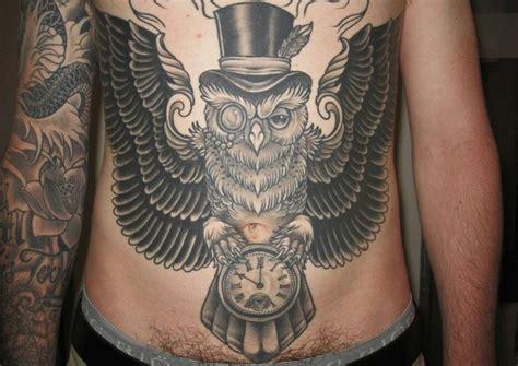owl tattoo hat top hat owl tattoo idea pinterest