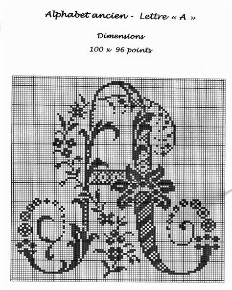 lettere ricamate a punto croce grande raccolta di schemi e grafici per punto croce free