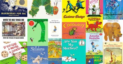 100 great childrens picture 100 top children s books list challenge