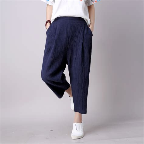 comfortable women s pants popular navy capri buy cheap navy capri lots from china