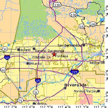 us map fontana california fontana california ca population data races housing