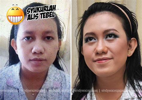 Pensil Alis Makeover ini vindy yang ajaib genta studio makeover for family