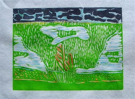 What A Relief by What A Relief Plein Air Printmaking Lino