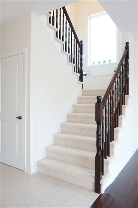 U Shaped Stairs Design Lancaster 313 Contemporary Staircase Ottawa By Luxart Homes