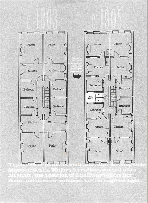 tenement floor plan nyc tenements