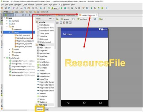 layout alignparentstart android studio listview fehlermeldung expected resource