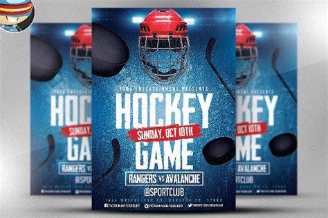 23 Hockey Flyer Templates Psd Ai Eps Vector Format Download Hockey Flyer Template