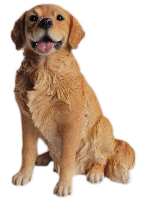 golden retriever sitting golden retriever sitting 21 quot h natures gallery all products bc83406 allsculptures