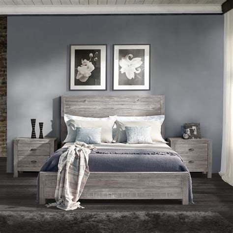 grey bedroom furniture set 1000 ideas about wood headboard on vintage