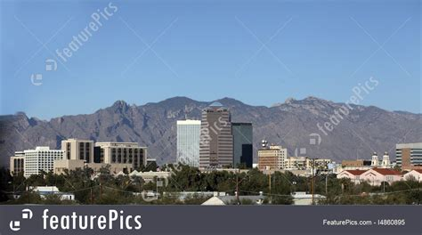 Tucson Number Search Cityscapes City Of Tucson Panorama Az Stock Image I4860895 At Featurepics